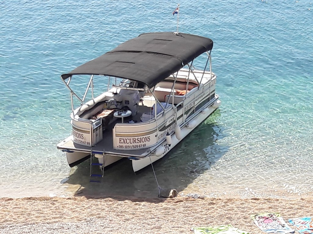 BOAT TRIPS TOWN PAG, ISLAND PAG